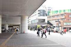 各線・石神井公園駅の様子。(2017-07-24,共用部,ENVIRONMENT,1F)