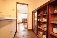 食器棚の様子。(2010-02-12,共用部,OTHER,1F)