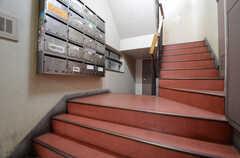 階段の様子。(2016-03-08,共用部,OTHER,1F)