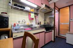キッチンの様子。(2016-03-08,共用部,KITCHEN,3F)