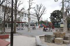 近隣の公園の様子。(2014-03-19,共用部,ENVIRONMENT,1F)