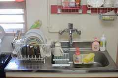 キッチンの様子。(201・202号室専用)(2014-08-19,共用部,KITCHEN,2F)