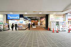 西武池袋線・桜台駅前の様子。(2017-03-15,共用部,ENVIRONMENT,1F)