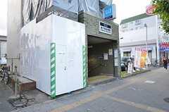 各線・地下鉄赤塚駅の様子。(2015-11-16,共用部,ENVIRONMENT,1F)