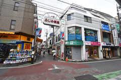 西武池袋線・富士見台駅前の様子。ふじみ銀座という商店街があります。(2019-08-20,共用部,ENVIRONMENT,1F)