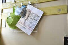 消耗品類は掃除当番が在庫を数えてメールで運営事業者さんに発注するシステムです。(2020-06-04,共用部,KITCHEN,2F)