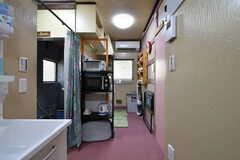 キッチン周辺の様子。(2020-06-04,共用部,OTHER,1F)