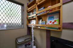 キッチンの対面には備品類が設置されています。(2020-06-04,共用部,KITCHEN,1F)