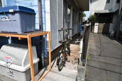 共用の自転車も用意されています。(2020-06-04,共用部,GARAGE,1F)