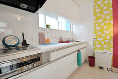 シェアハウスのキッチンの様子。(2010-10-26,共用部,KITCHEN,1F)