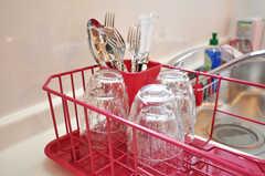 洗った食器はこちらへ。(2010-10-26,共用部,OTHER,1F)