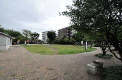 西武池袋線・富士見台駅からシェアハウスへ向かう道にある公園。(2010-10-26,共用部,ENVIRONMENT,1F)