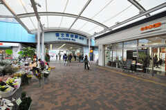 西武池袋線・富士見台駅の様子。(2010-10-26,共用部,ENVIRONMENT,1F)