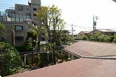 窓からの景色。(204号室)(2013-06-04,専有部,ROOM,2F)