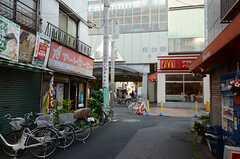 西武池袋線・桜台駅への様子。(2013-06-04,共用部,ENVIRONMENT,1F)