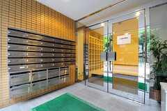 ポストは部屋ごとに分かれています。(2012-07-24,周辺環境,ENTRANCE,1F)