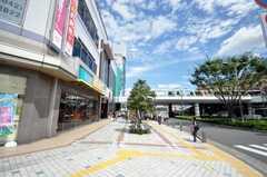西武新宿線田無駅前の様子。(2009-08-07,共用部,ENVIRONMENT,1F)