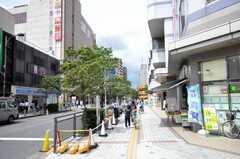 西武新宿線田無駅からシェアハウスへ向かう道の様子。(2009-08-07,共用部,ENVIRONMENT,1F)