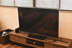 TVの様子。(2017-11-22,共用部,TV,1F)