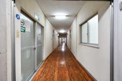 廊下の様子。(2017-11-22,共用部,OTHER,1F)