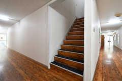 階段の様子。(2017-11-22,共用部,OTHER,1F)