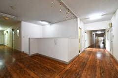 廊下の様子3。広々としています。(2017-11-22,共用部,OTHER,2F)