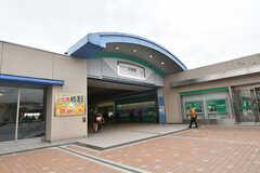 西武新宿線・田無駅の様子。(2017-11-22,共用部,ENVIRONMENT,1F)
