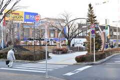 西武新宿線・田無駅周辺の様子。(2017-02-13,共用部,ENVIRONMENT,1F)