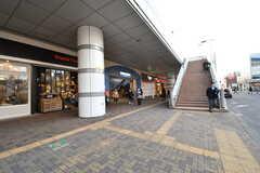 西武新宿線・田無駅の様子。(2017-02-13,共用部,ENVIRONMENT,1F)