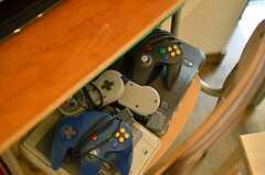 懐かしいゲーム機も揃っています。(2012-02-01,共用部,OTHER,1F)