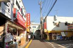 西武新宿線・田無駅からシェアハウスへ向かう道の様子。(2012-02-01,共用部,ENVIRONMENT,1F)