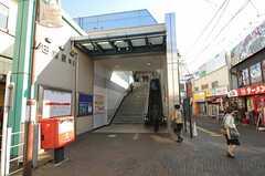 西武新宿線・田無駅の様子。(2012-02-01,共用部,ENVIRONMENT,1F)
