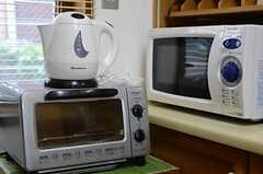 キッチン家電の様子。(2011-07-29,共用部,KITCHEN,1F)