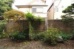 庭の様子。(2011-07-29,共用部,OTHER,1F)