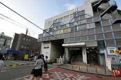 東急世田谷線・雪が谷大塚駅の様子。(2011-07-29,共用部,ENVIRONMENT,1F)
