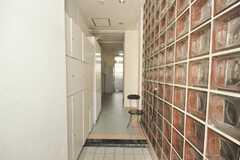 正面玄関から見た内部の様子。(2010-02-05,周辺環境,ENTRANCE,1F)