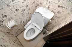 トイレの様子。(401号室)(2010-02-05,共用部,TOILET,4F)