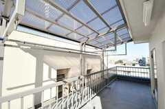 屋上の様子。(2010-02-05,共用部,OTHER,6F)