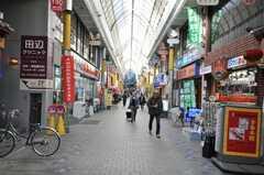 京急蒲田駅からシェアハウスへ向かう道の様子。(2010-02-05,共用部,ENVIRONMENT,1F)