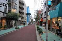 東急池上線・久が原駅からシェアハウスへ向かう道の様子。(2010-10-14,共用部,ENVIRONMENT,1F)