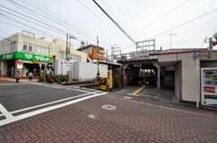 東急池上線・久が原駅の様子。(2010-10-14,共用部,ENVIRONMENT,1F)