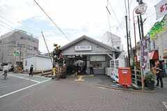 東急池上線・御嶽山駅の様子。  (2011-06-28,共用部,ENVIRONMENT,1F)