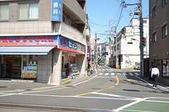 東急多摩川線・沼部駅前の様子。(2012-09-12,共用部,ENVIRONMENT,1F)