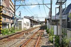 東急多摩川線・沼部駅の様子。(2012-09-12,共用部,ENVIRONMENT,1F)