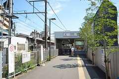 東急多摩川線・沼部駅の様子2。(2012-09-12,共用部,ENVIRONMENT,1F)