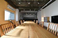 ダイニングテーブルから見たキッチンの様子。(2018-01-10,共用部,LIVINGROOM,1F)
