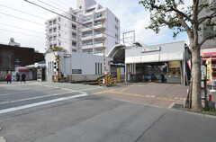 東急多摩川線・下丸子駅の様子。東急池上線・千鳥町駅も利用できます。(2014-11-17,共用部,ENVIRONMENT,1F)