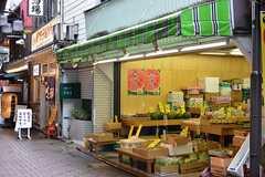 古くからの商店が軒を連ねています。(2016-07-21,共用部,ENVIRONMENT,1F)