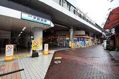 京急本線・平和島駅周の様子。(2016-07-21,共用部,ENVIRONMENT,1F)