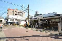東急多摩川線・武蔵新田駅の様子。(2015-10-14,共用部,ENVIRONMENT,1F)